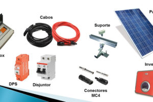 Acessórios para Energia Solar
