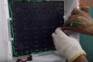 Cabeamento do Sistema Fotovoltaico