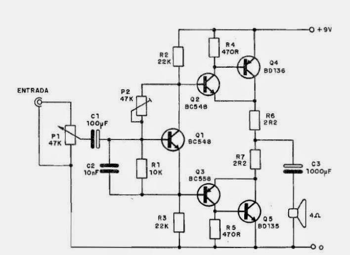 Amplificador de áudio