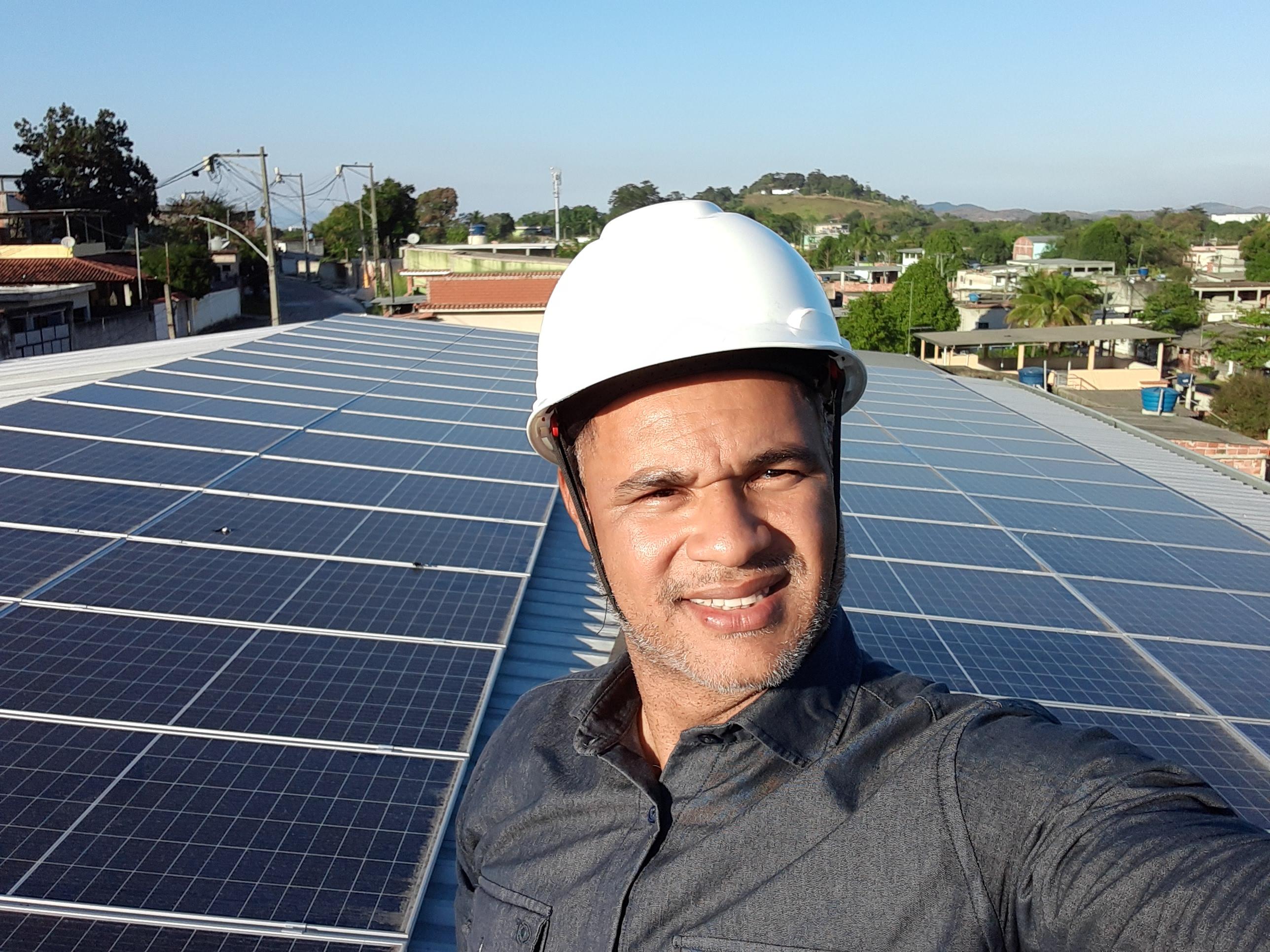 sistema fotovoltaico de grande potencia