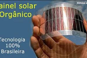 Painel Solar Orgânico de OPV
